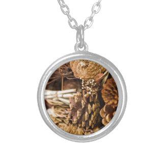 Festive Pine  Cones Necklaces