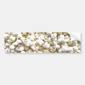 Festive Popcorn Decor Photography Bumper Sticker