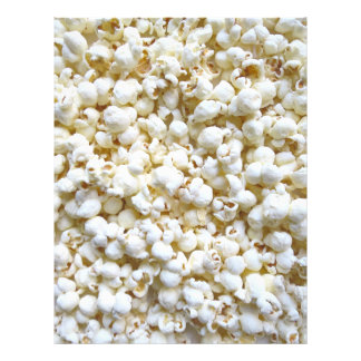 Festive Popcorn Decor Photography Letterhead