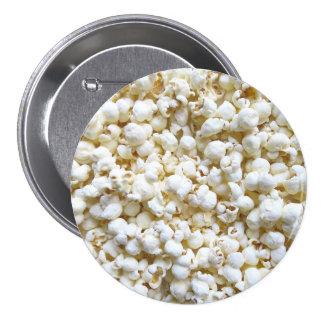 Festive Popcorn Decor Photography Pinback Button