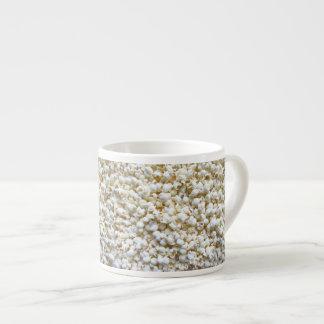 Festive Popcorn Texture Photography Decor Espresso Cup