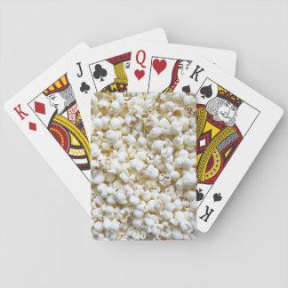 Festive Popcorn Texture Photography Decor Poker Deck