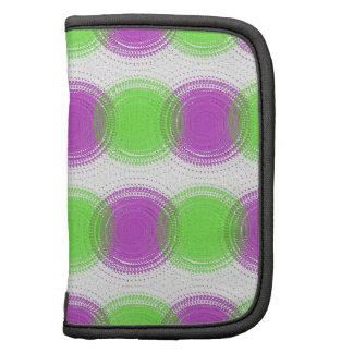 Festive Purple & Lime Green Pattern Organizer