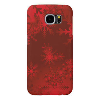 Festive red Christmas Case