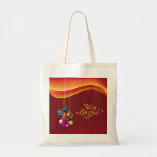 Festive Red Christmas Tote