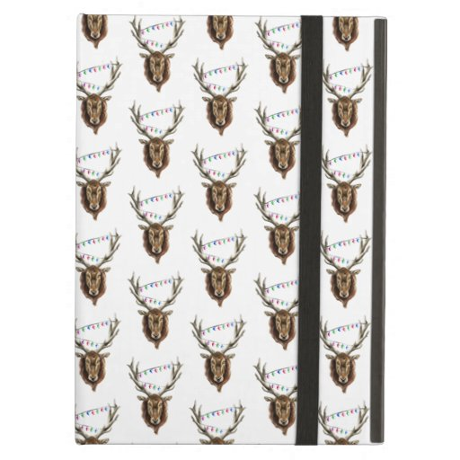 Festive Red Deer Stag Case For iPad Air