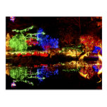Festive Reflections - Shore Acres State Park OR Post Cards
