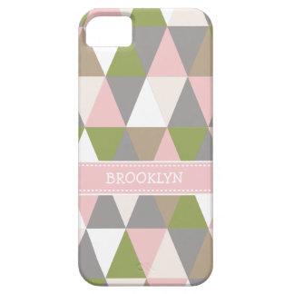 Festive Retro Geometric iPhone iPhone SE/5/5s Case