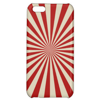 Festive Retro Popcorn Classic Spinning Wheel Cover For iPhone 5C