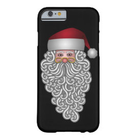 Festive Santa Barely There iPhone 6 Case