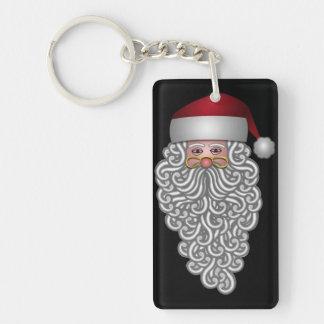 Festive Santa Keychain