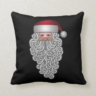 Festive Santa Throw Pillow