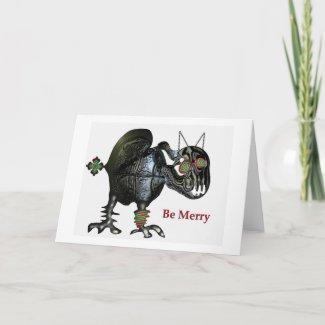 Festive season depression card