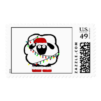 Festive Sheep Stamps