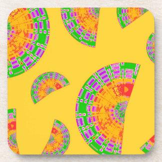 Festive Shells Beverage Coaster