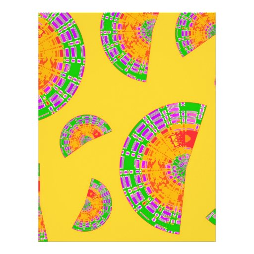 Festive Shells Letterhead Template
