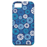 Festive Snowflakes iPhone 5 Covers