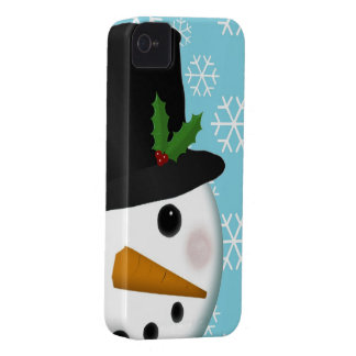 Festive Snowman Holiday Case-Mate for iPhone 4