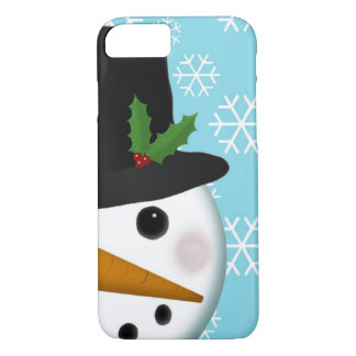 Festive Snowman Holiday for iPhone 7 case