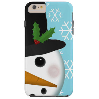Festive Snowman Holiday iPhone 6 Plus Case