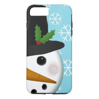 Festive Snowman Holiday iPhone 7 Plus Case