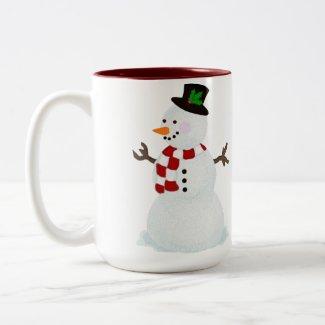 Festive Snowman Mug