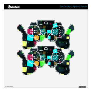 Festive Sprinkle Of Confetti Chaos Decal For PS3 Controller