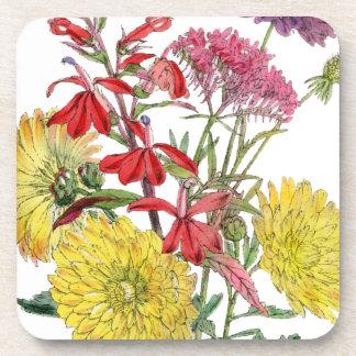 Festive Sring Floral Gifts Beverage Coaster