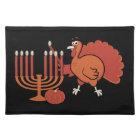 Festive 'Thanksgivukkah' Cloth Placemat