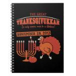 Festive 'Thanksgivukkah' Journals