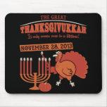 Festive 'Thanksgivukkah' Mousepads