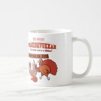 Festive 'Thanksgivukkah' Classic White Coffee Mug
