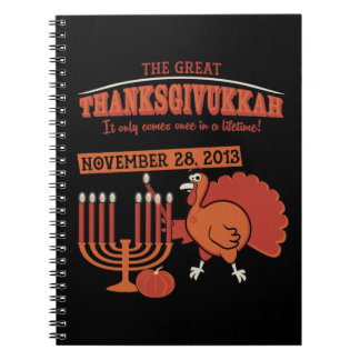 Festive 'Thanksgivukkah' Notebook