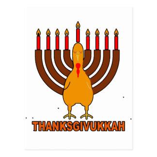 Festive 'Thanksgivukkah' Tshirts l.png Postcards