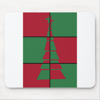 Festive Tree Mouse Pad