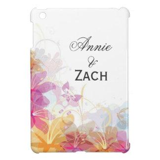 Festive Tropical flowers iPad Mini Cover