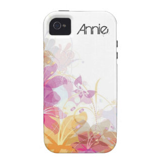 Festive Tropical flowers iPhone 4/4S Cover