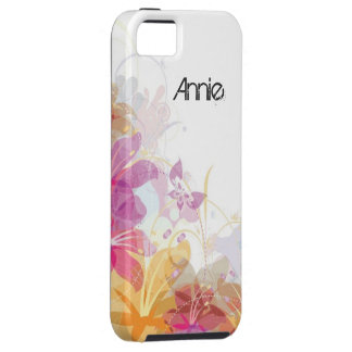Festive Tropical flowers iPhone 5 Cover