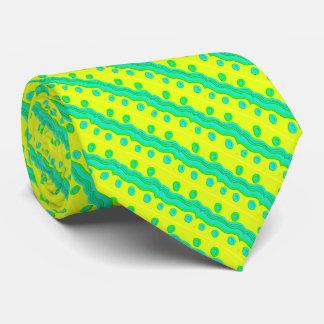Festive Waves Necktie