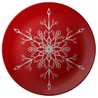 Festive Winter Plate