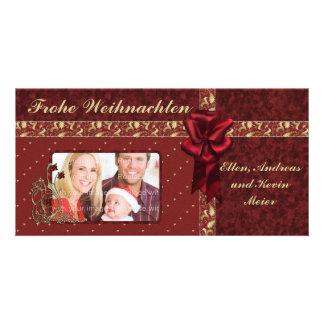 Festliches Weihnachts Design Picture Card