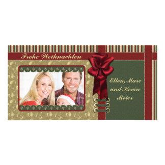 Festliches Weihnachts Motiv Card