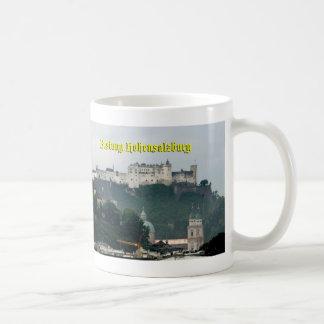 Festung Hohensalzburg, Salzburg Austria Coffee Mug