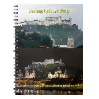 Festung Hohensalzburg, Salzburg Austria Libros De Apuntes Con Espiral