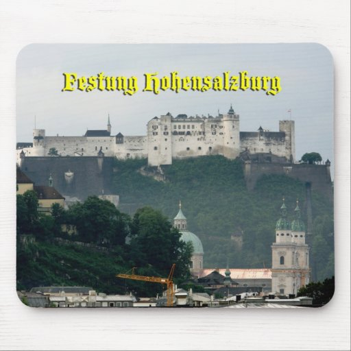 Festung Hohensalzburg, Salzburg Austria Mousepads