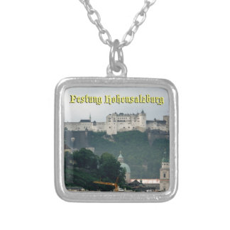 Festung Hohensalzburg, Salzburg Austria Personalized Necklace