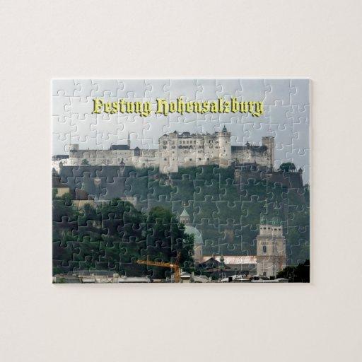 Festung Hohensalzburg, Salzburg Austria Puzzles