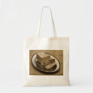 Feta Cheese Budget Tote Bag