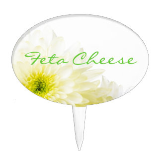 Feta Cheese Sign | Cake Topper