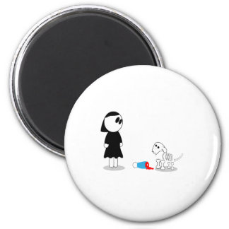 Fetch 2 Inch Round Magnet